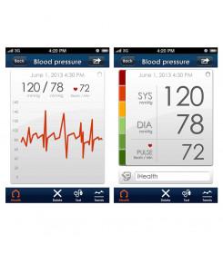 MISURATORE PRESSIONE iHEALTH BP5 - braccio