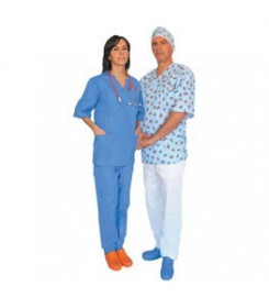 pantaloni ospedale azzurri