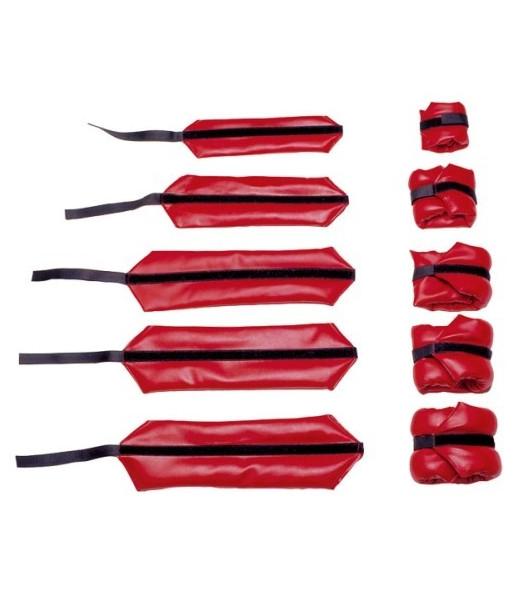 Coppia cavigliere polsiere da kg. 3 (kg. 1,5 cadauna)