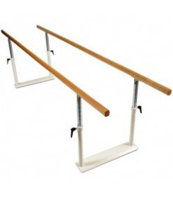 Parallela per deambulazione senza base chiudibile lunghezza 3 metri