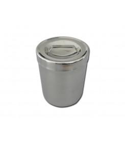 Portacotone 1litro con coperchio diam.103x 128 mm