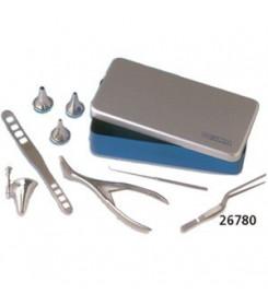 Trousse Orl in scatola alluminio