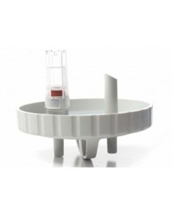 Tappo Coperchio di ricambio per vaso da 1000 - 2000 cc con valvola troppo pieno per aspiratore NEW ASKIR HOSPIVAC