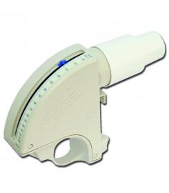 Misuratore di picco portatile per monitoraggio asma mod. Flowmeter scala ridotta 50/400 L/min