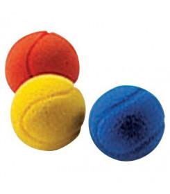 Palline gommapiuma per ginnastica medica riabilitazione confezione 3 pezzi