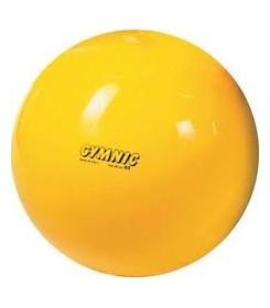 Pallone Psicomotorio Gymnic diametro 45 cm colore Giallo