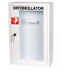 Armadio/teca per defibrillatore