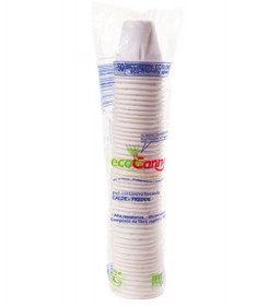 Bicchierino caffè biodegradabile e compostabile conf. 2000 pezzi