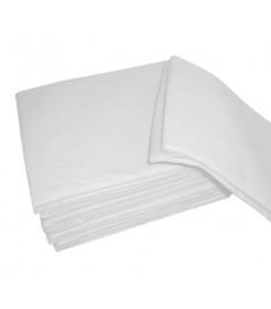 Lenzuolo monouso in TNT colore Bianco confezione 10 pezzi